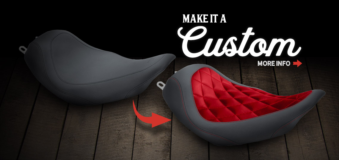 Motorcycle Seats & Accessories | Handmade in the USA